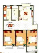 世纪尊园3室2厅1卫0平方米户型图