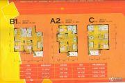 阜阳幸福家园2室2厅1卫75--77平方米户型图