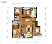 金科博翠园3室2厅0卫98平方米户型图
