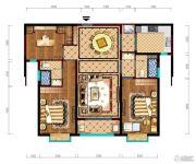 阳光城市・晶海园3室2厅2卫119平方米户型图