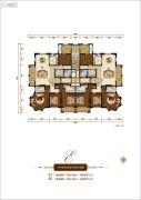 香榭里4室2厅3卫216平方米户型图