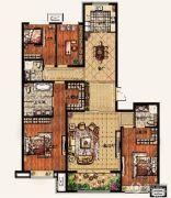 廊坊孔雀城悦府4室2厅2卫185平方米户型图
