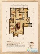 润丰水尚3室2厅2卫137平方米户型图