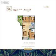 水韵绿城3室2厅2卫156平方米户型图
