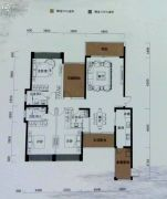 恒裕水墨兰亭4室2厅2卫167平方米户型图