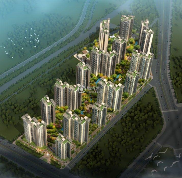惠丰瑞城鸟瞰图