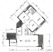 水木清华3室2厅2卫100--160平方米户型图