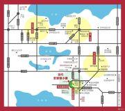 当代安普顿小镇交通图