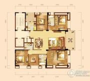 泰然南湖玫瑰湾5室2厅3卫201平方米户型图