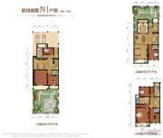金昌启亚・白鹭金岸4室2厅4卫446平方米户型图
