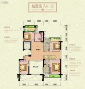 宏兴御景庄园6室4厅3卫251平方米户型图