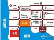 岳阳恒大・南湖半岛交通图