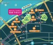 联泰・滨江中心交通图