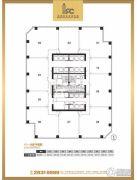 IFC福建国际金融中心160--2750平方米户型图
