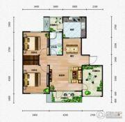 芭东海城2室2厅1卫99平方米户型图
