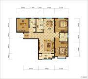 中交・香颂(廊坊)3室2厅2卫114平方米户型图