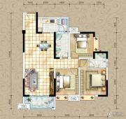 凤琴岚湾3室2厅2卫109平方米户型图