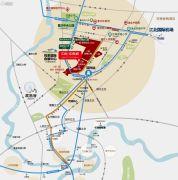 中航中央城交通图
