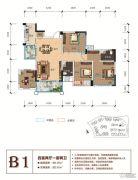 天立香缇华府4室2厅2卫119--132平方米户型图