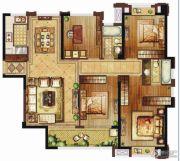 保利・香槟国际4室2厅2卫130平方米户型图