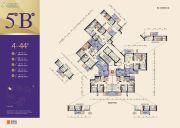 佳兆业・前海广场1室1厅1卫0平方米户型图