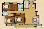 东方小镇 高层4室2厅2卫176平方米户型图