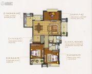 盛和花半里3室2厅2卫0平方米户型图
