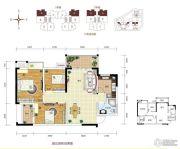 振宁i时代3室2厅1卫0平方米户型图