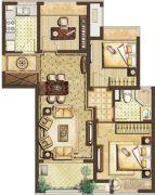 中建锦绣天地3室1厅0卫0平方米户型图