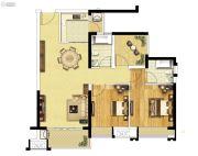融创御府2室2厅2卫86--88平方米户型图