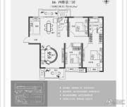 正弘高新数码港3室2厅2卫140平方米户型图