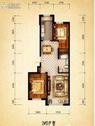 盛世温泉嘉苑0室0厅0卫99平方米户型图