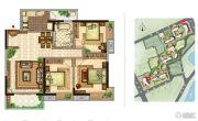 美景嘉园3室2厅1卫118平方米户型图