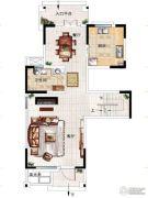 民安北郡4室2厅2卫163平方米户型图