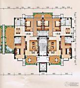 柏嘉名庭127--143平方米户型图