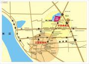 江陵和邦・中央金街交通图