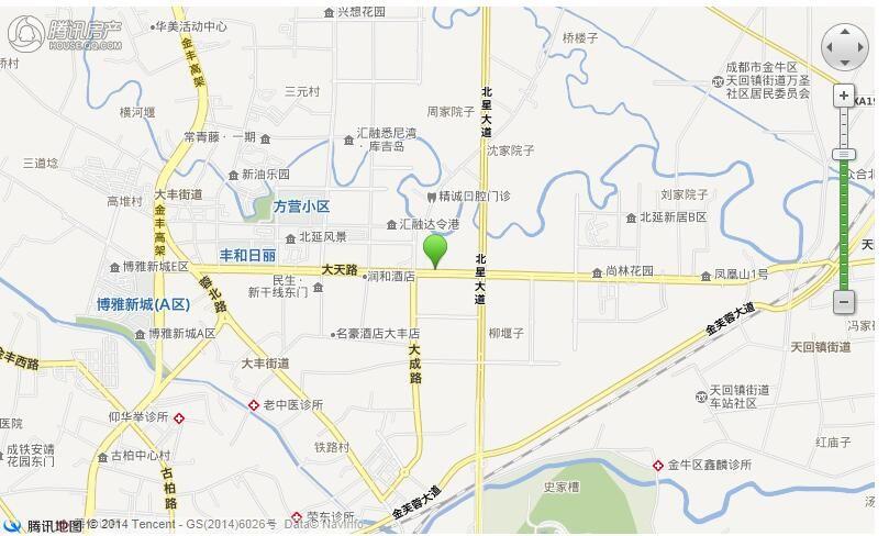 金沙县城关镇地图