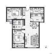 万汇国际广场3室2厅1卫103平方米户型图