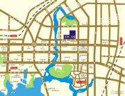 滨水天悦交通图