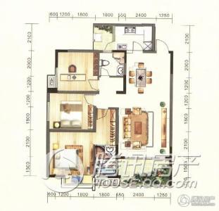 金龙星岛国际2号楼b1户型