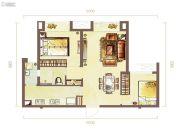 紫日名苑2室2厅2卫93--98平方米户型图
