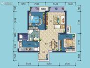 金科东方雅郡2室2厅1卫67平方米户型图