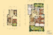 天河理想城3室2厅2卫146平方米户型图