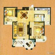 帝奥世伦名郡2室2厅1卫96平方米户型图