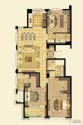 金鼎湾如院3室2厅3卫154平方米户型图