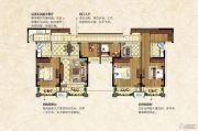 中南锦城5室3厅2卫175平方米户型图