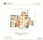 滇池明珠广场5室2厅3卫247平方米户型图