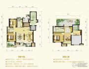 中冶・蓝湾4室2厅2卫0平方米户型图
