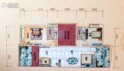 盈翠皇庭4室2厅2卫146平方米户型图