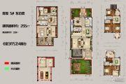 恒佳太阳城6室3厅5卫255平方米户型图